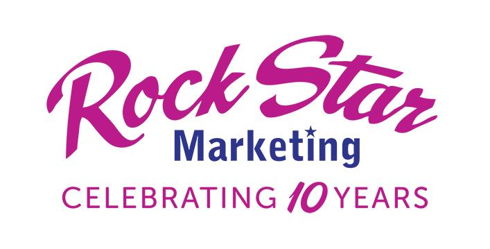 Rock Star Marketing logo 10 years